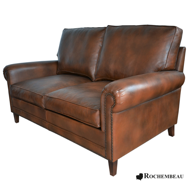leather darwin club sofa sheepskin leather cigare sofa. Black Bedroom Furniture Sets. Home Design Ideas