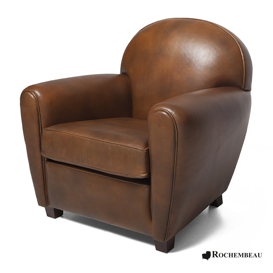new york club armchair rochembeau sheepskin leather club. Black Bedroom Furniture Sets. Home Design Ideas
