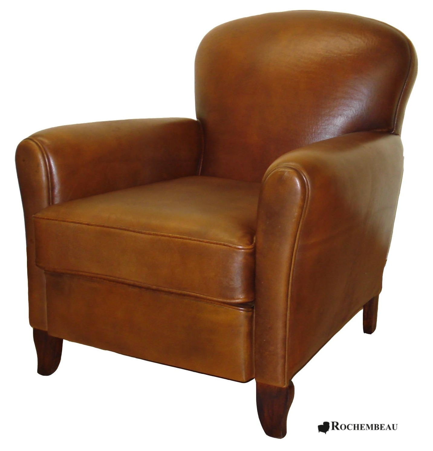 portsmouth club armchair rochembeau sheepskin leather. Black Bedroom Furniture Sets. Home Design Ideas