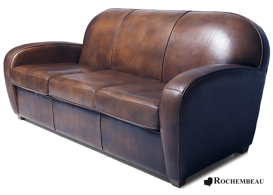 Chelsea Club Sofa - Top-grain Leather Club Sofa - Sheepskin