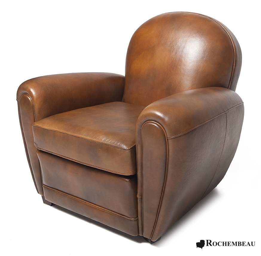 bradford club chair rochembeau sheepskin leather club