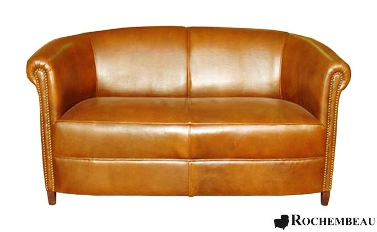 brighton club sofa rochembeau sheepskin leather club sofa. Black Bedroom Furniture Sets. Home Design Ideas