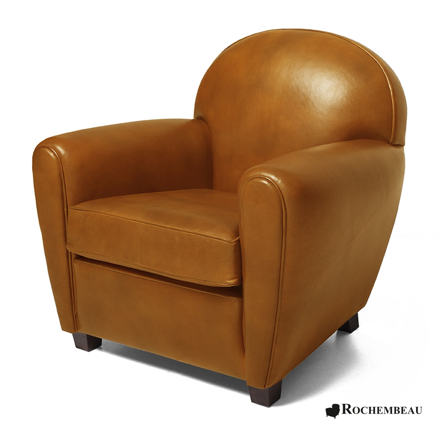 new york club armchair rochembeau sheepskin leather club. Black Bedroom Furniture Sets. Home Design Ideas