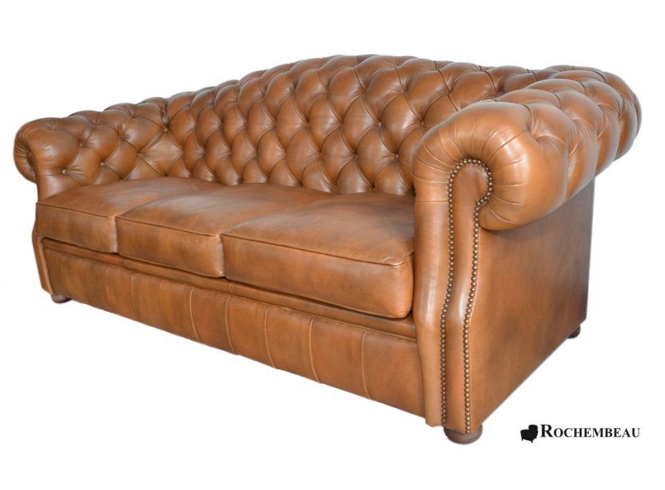 Cook Chesterfield Sofa back round