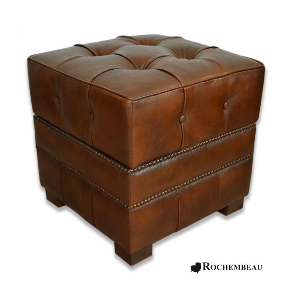 Tremendous Square 48 X 48 Cm Footstool Rochembeau Footstools Spiritservingveterans Wood Chair Design Ideas Spiritservingveteransorg