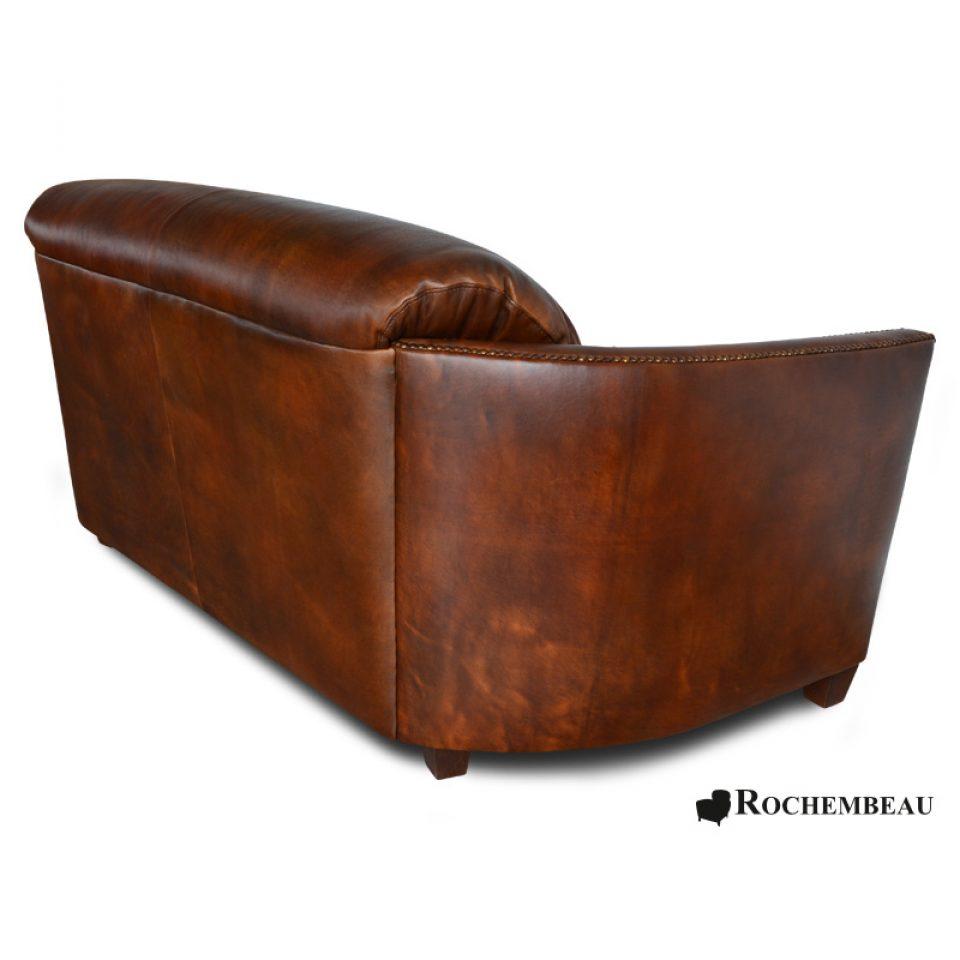 leather bateau club sofa sheepskin leather cigare sofa. Black Bedroom Furniture Sets. Home Design Ideas