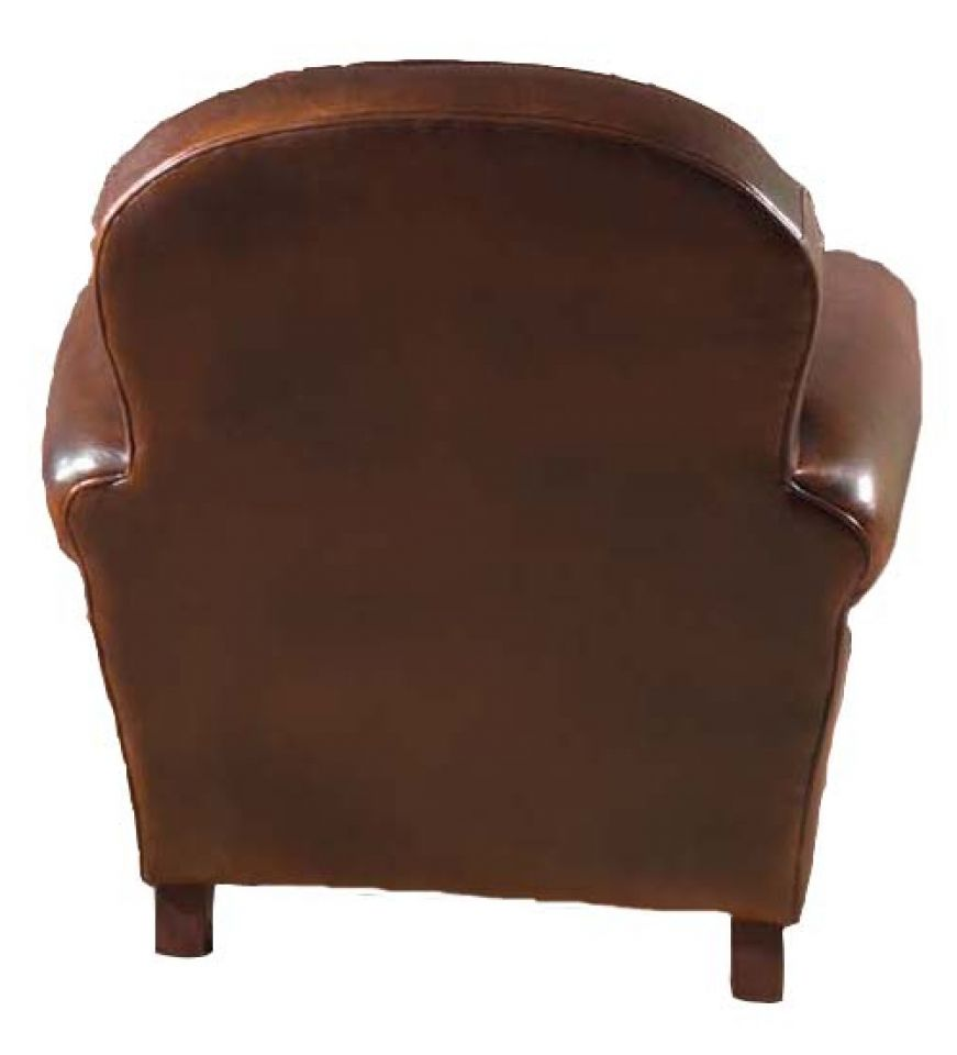clapton club chair rochembeau sheepskin leather club armchair. Black Bedroom Furniture Sets. Home Design Ideas